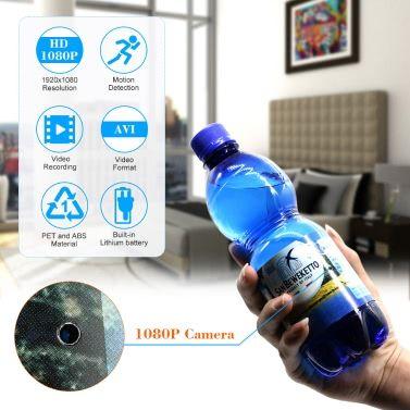 Die versteckte Kamera in der Wasserflasche mit Gutschein für nur 22,40 Euro inkl. Lieferung!
