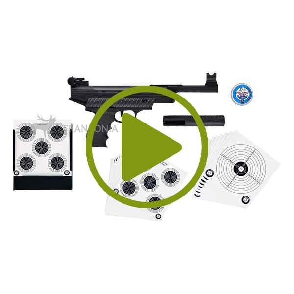 Luftpistolen Set