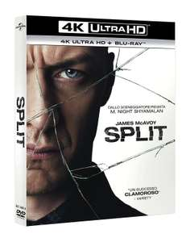 2x Split (4K Ultra HD Blu-ray + Blu-ray) für 16,81€ (Amazon.it)