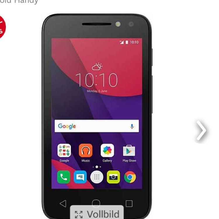 Smartphone unter 40€!