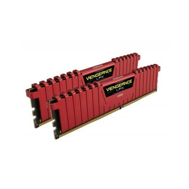 Corsair Vengeance LPX Kit DDR4- 16 GB (2×8), 3733 MHz, CAS 17, Airflow Kühlung