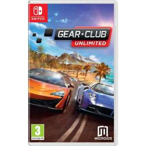 [shop4de] Gear Club Unlimited (PEGI) für 34,98€ (31,68€ durch Player Points)