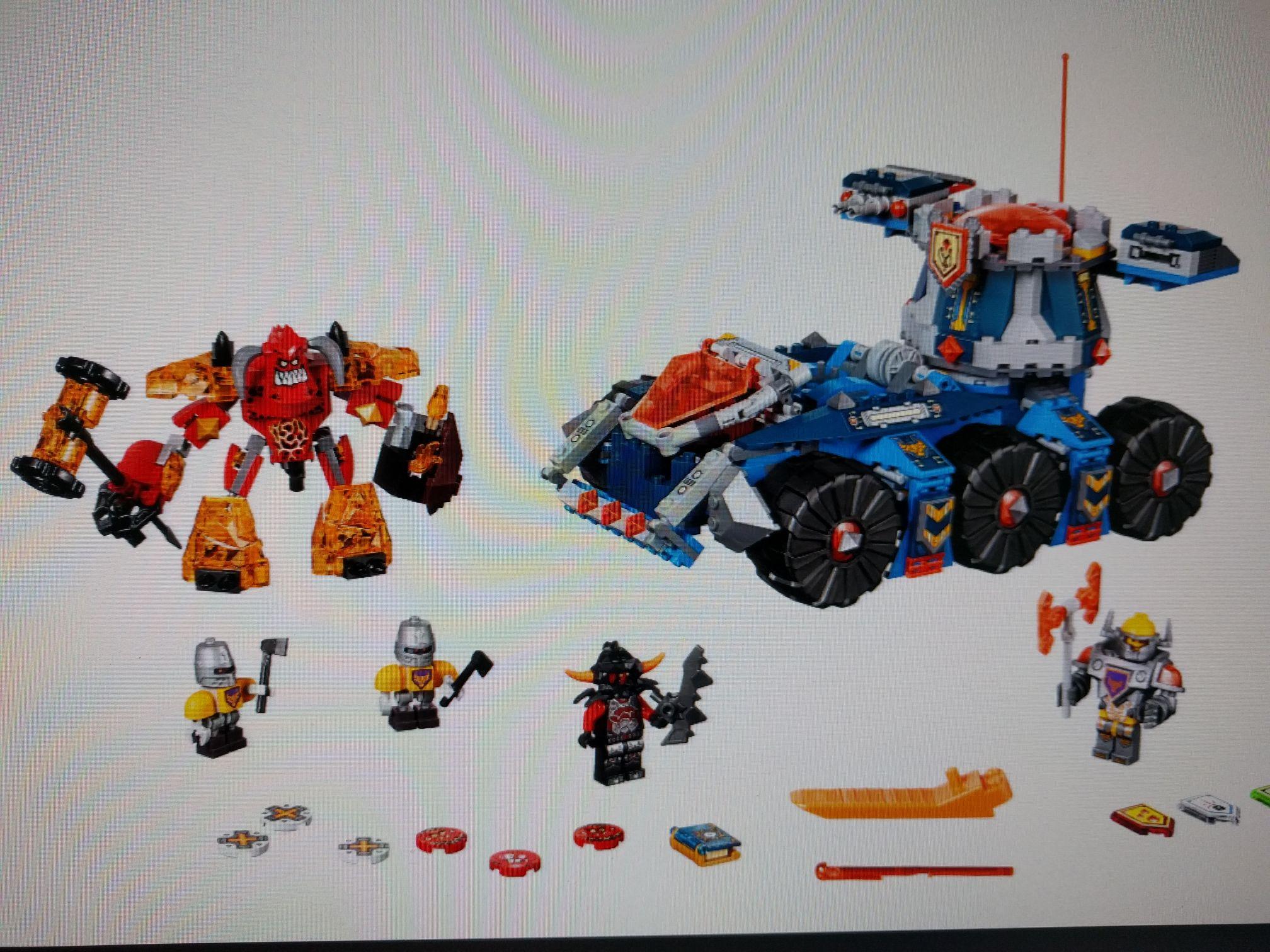 (Prime) Lego Nexo Knights 70322 Axls mobiler Verteidigungsturm