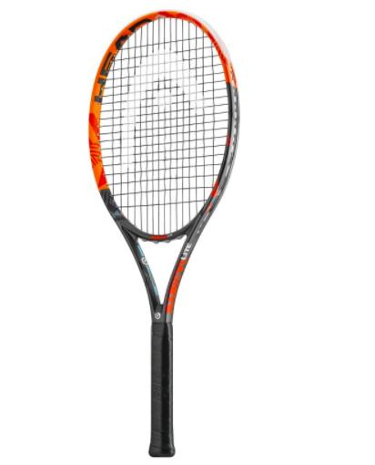 """Leichter Head Tennisschläger für Damen und Kids (oder Leute mit Tennisarm) """"Radical Lite"""" in Griffstärke 1 & 2 bei Decathlon"""