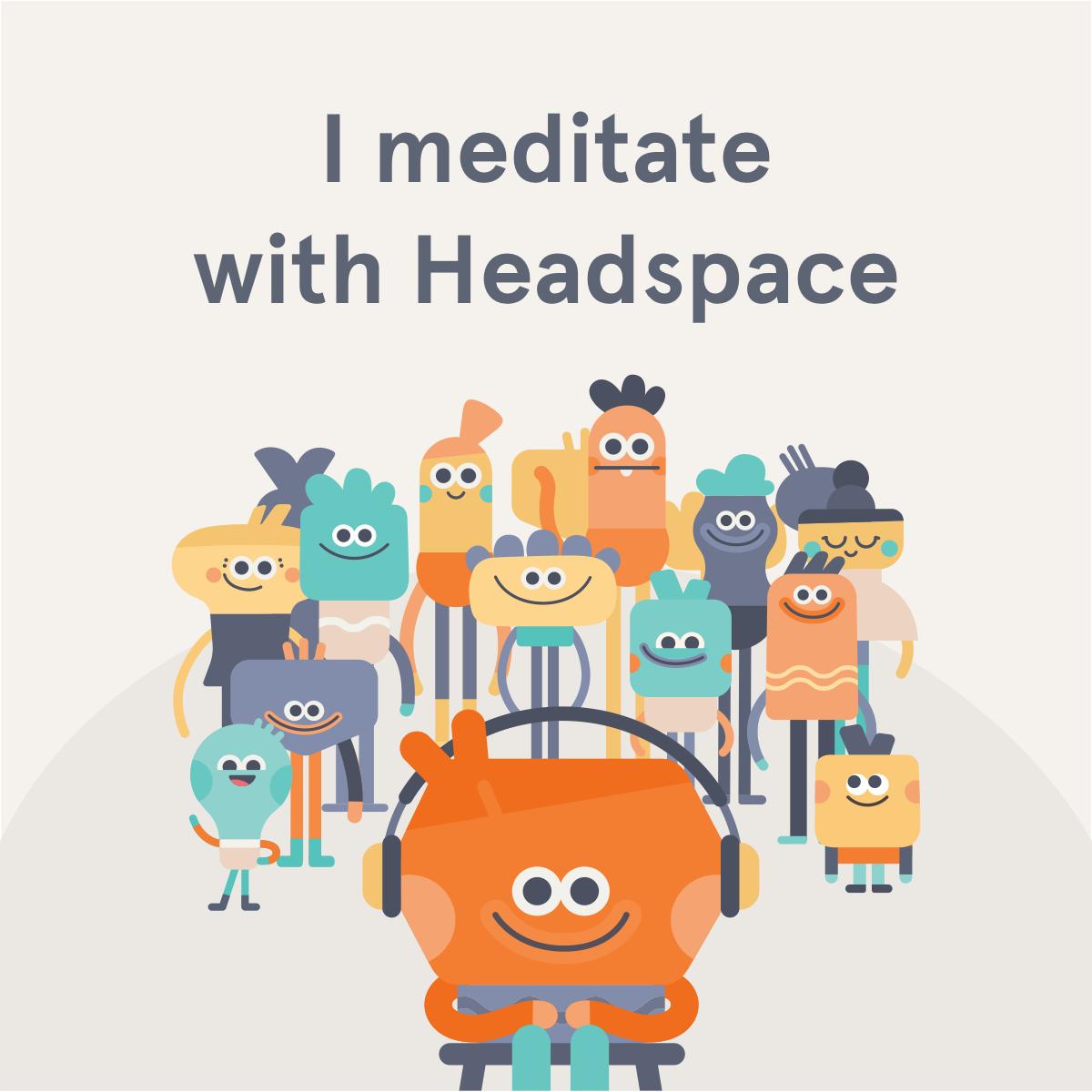 Headspace 25% Rabatt auf Jahresabo