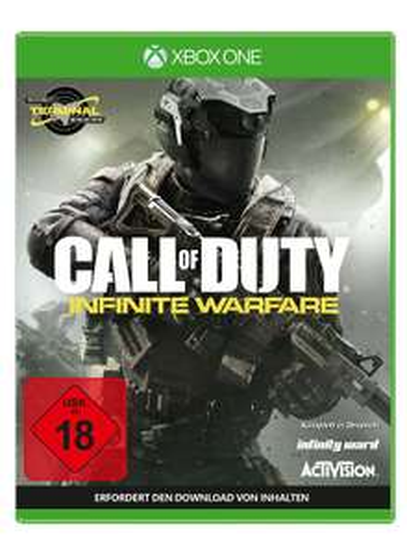 Call of Duty: Infinite Warfare (Xbox One) für 9,99€ & Call of Duty: Infinite Warfare - Legacy Pro Edition (inkl. Season Pass & Steelbook) für 19,99€ (Saturn)