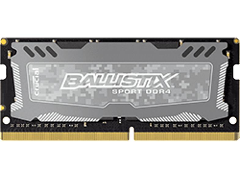 Crucial Ballistix Sport LT 4GB DDR4 PC4-19200 CL16 SO-DIMM für 22,99€ (Media Markt + Amazon)