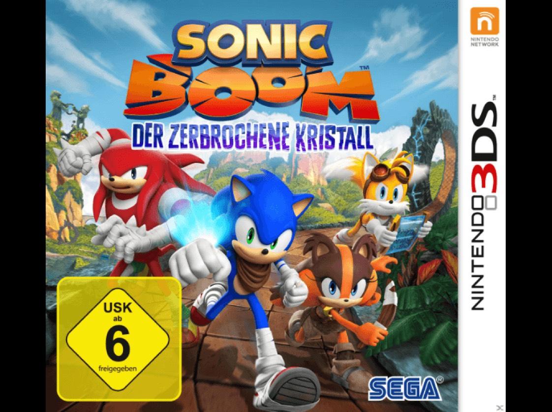 SONIC BOOM: DER ZERBROCHENE KRISTALL - NINTENDO 3DS für 9,99€ / Abholung Saturn !