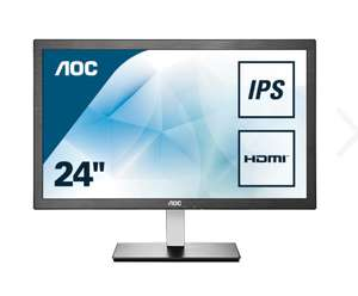 """AOC I2476VXM 24 """"PC Monitor - IPS Full HD, 5 ms"""