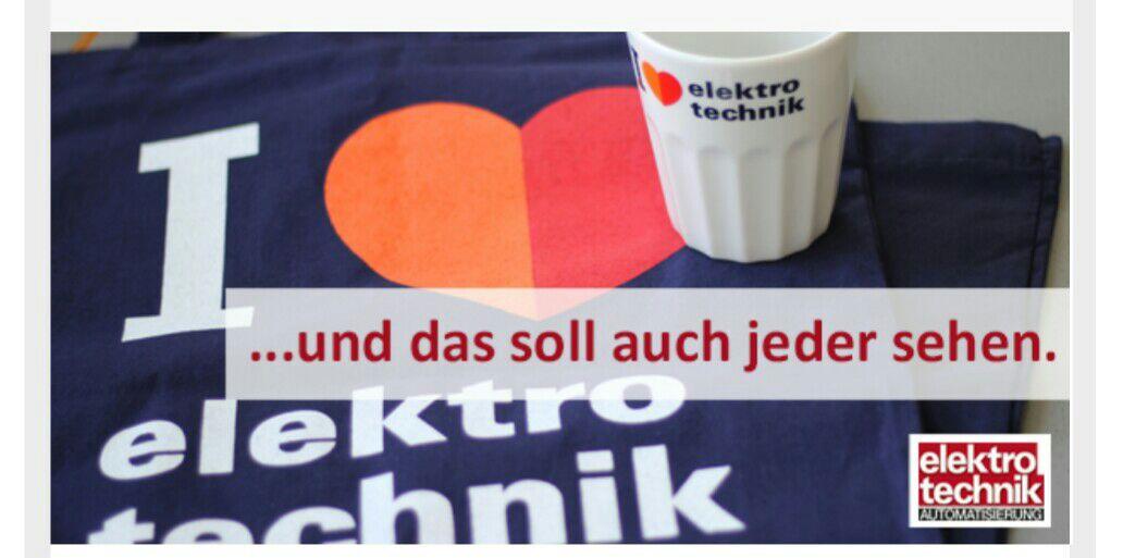 Gratis Tasse und Tasche auf elektrotechnik.de