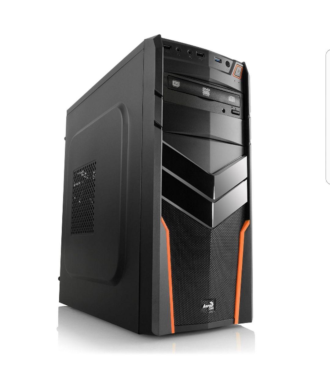 [Amazon.Blitzangebot] Gaming PC IDV Intel i5-7600 inkl. Windows 7 Professional - Intel Quad-Core i5-7600 4× 3500 MHz, GeForce GTX 1070, 16GB RAM, 240GB SSD, 1TB HDD, USB 3.1