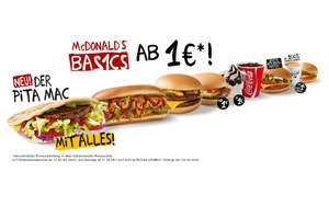 McDonalds Tages Coupons ab 22.02
