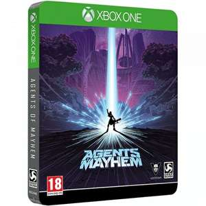 Agents Of Mayhem Day One Steelbook Edition (Xbox One)