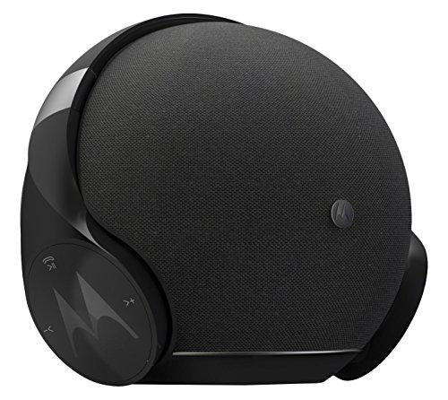 Motorola Sphere+ | 2 in 1 Stereo Bluetooth Lautsprecher und Kopfhörer Set | Headset und Freisprechanlage | Schwarz