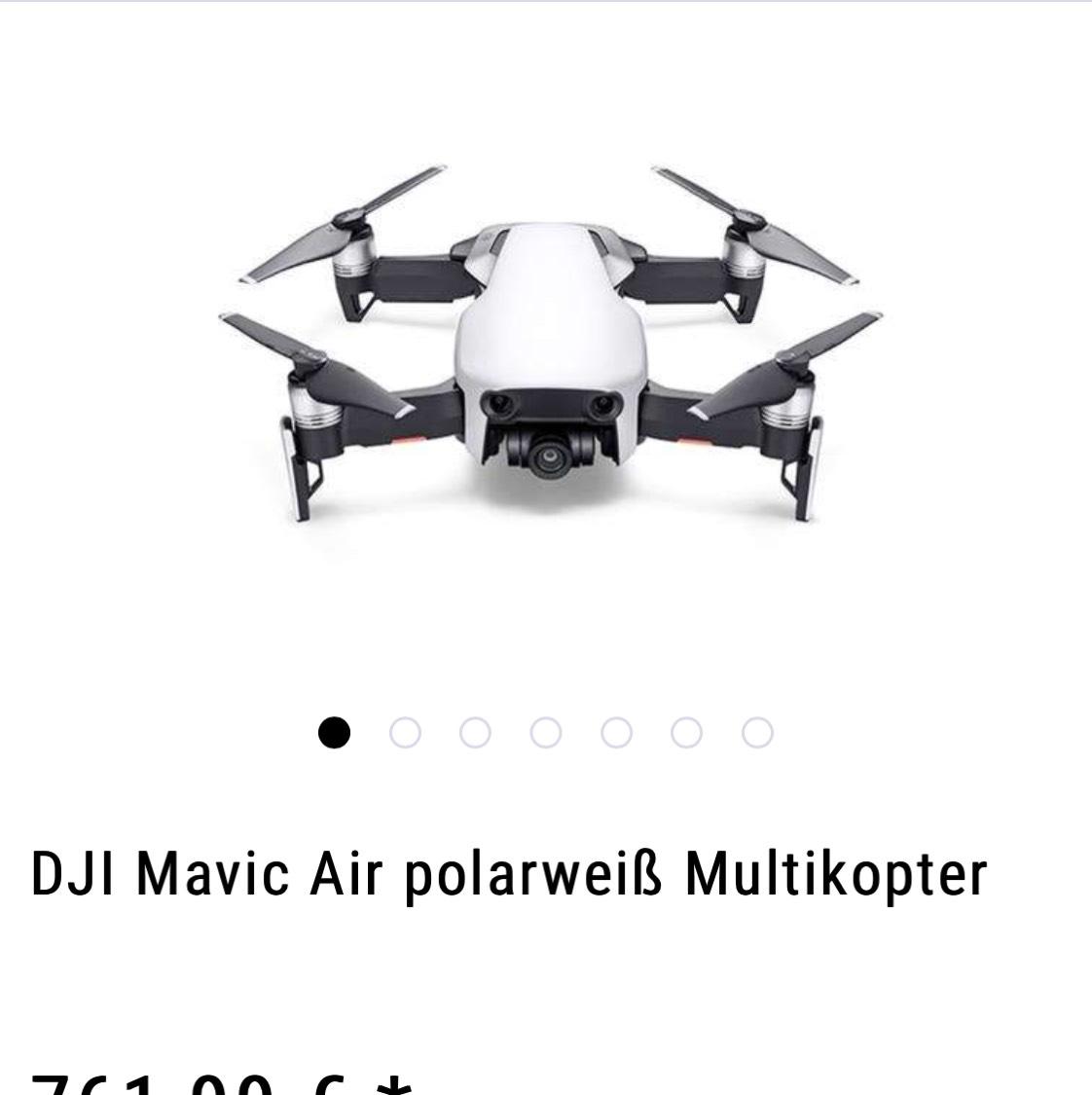 Dji Mavic Air im deutschen Shop für 88€ unter Listenpreis