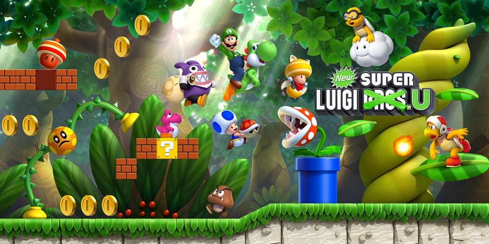 New Super Luigi U DLC Wii U für 100 Goldmünzen im My.Nintendo-Programm