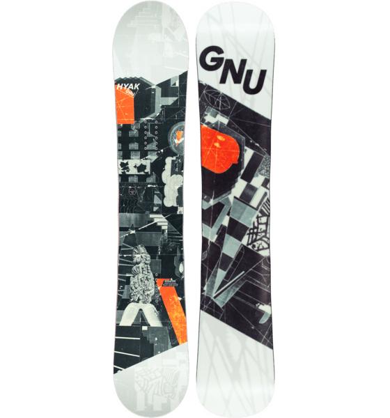 GNU Hyak BTX 157 Snowboard (2018)