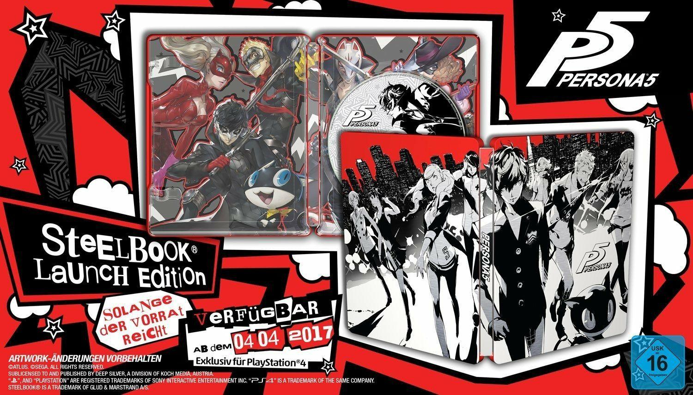 Persona 5Steelbook Edition (PS4)