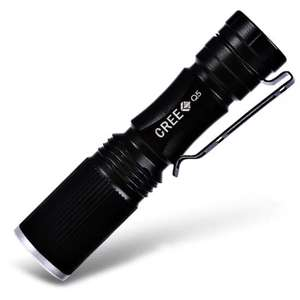 Cree XPE Q5 600Lm Zoomable LED Flashlite