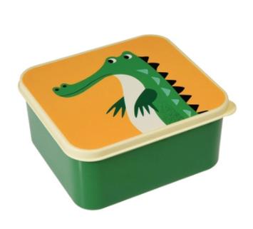 15% Rabatt auf Thermoskannen und Lunchboxes + 5€-Newsletter-Gutschein bei pinkmilk, z.B. Rex International Krokodil Brotdose