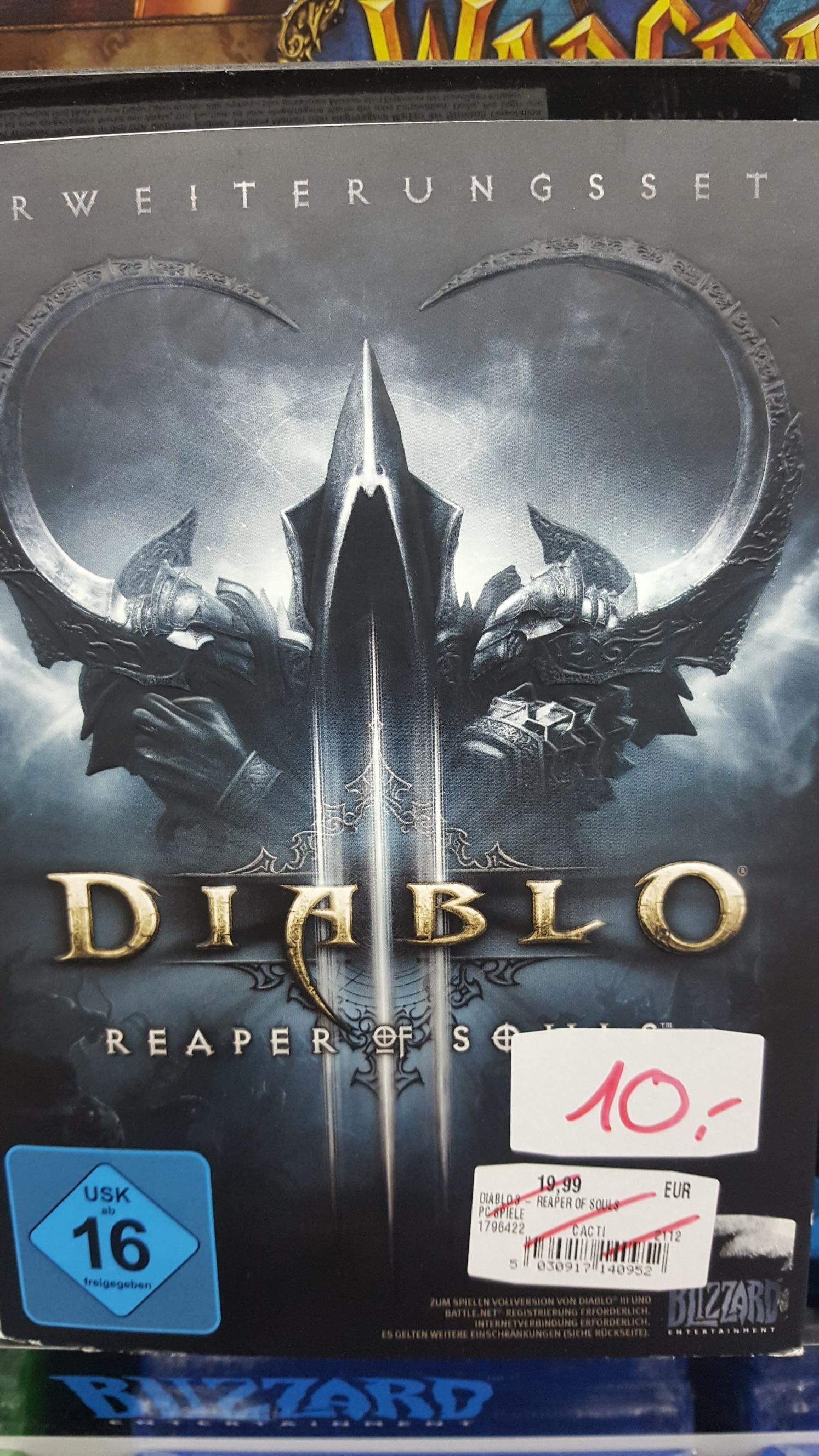 (LOKAL Ludwigsburg MM) Diablo 3 Reaper of Souls
