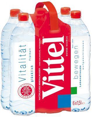 Vittel 6x 1,5 Liter 2,22 €  bei Trinkgut günstiger als Lidl Angebot