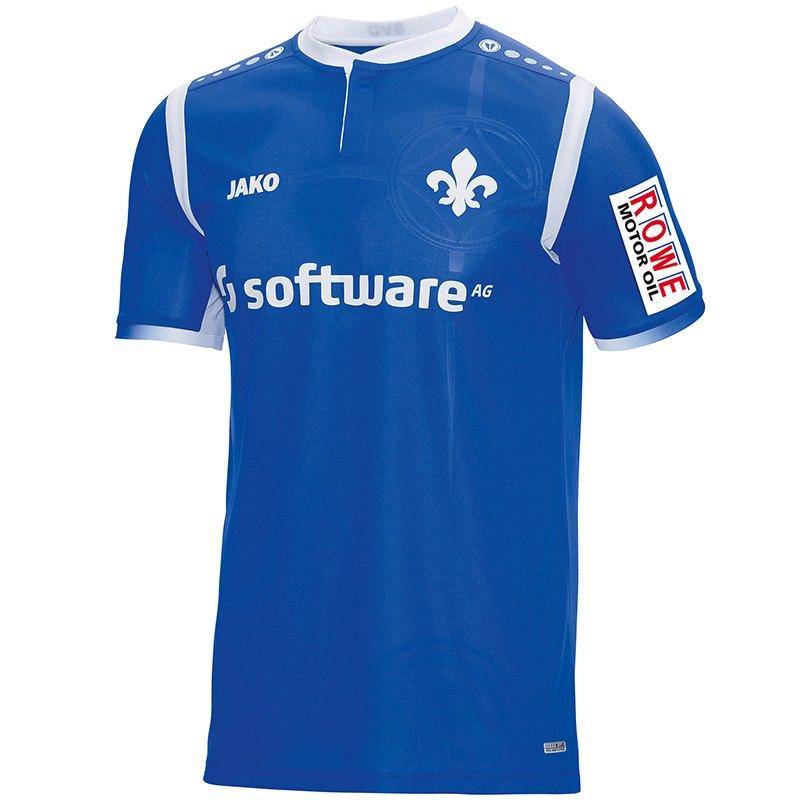 Jako SV Darmstadt Home Trikot 17/18 für 38,49€ - Bis 70% Rabatt auf Darmstadt Artikel