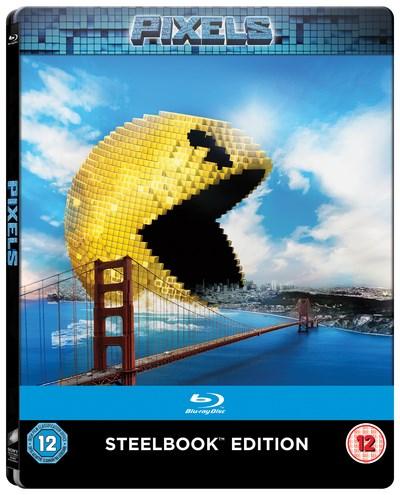 Pixels - Steelbook (Blu-ray) für 6,20€ (Zoom.co.uk)