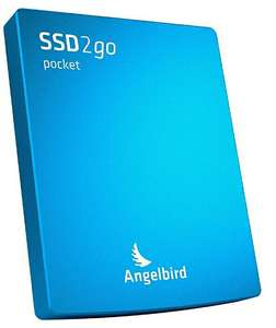 "Angelbird SSD2GO Pocket 512 GB 2,5"" blau [Amazon]"