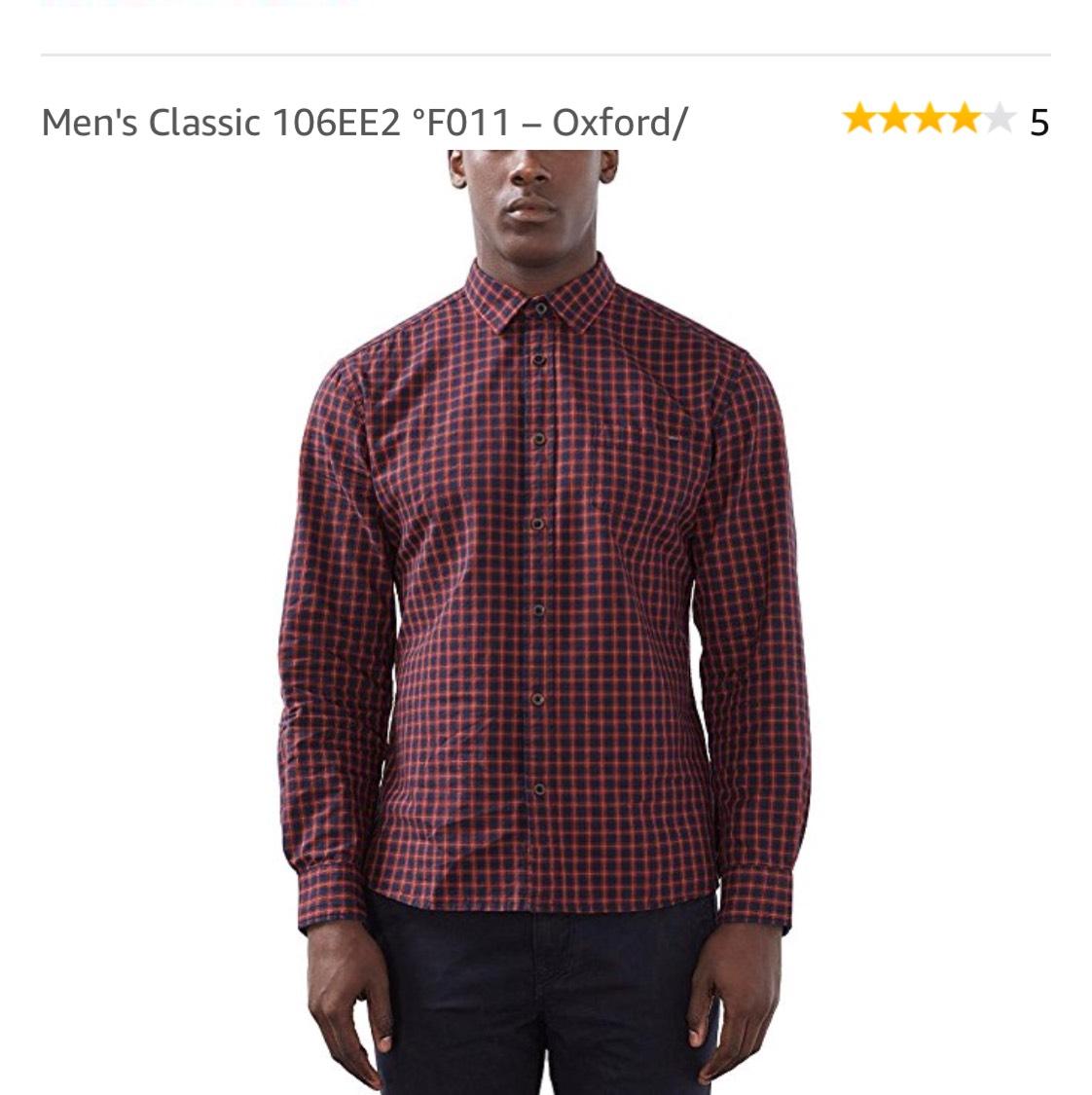 Men's Classic Hemd – Oxford [ große :L]