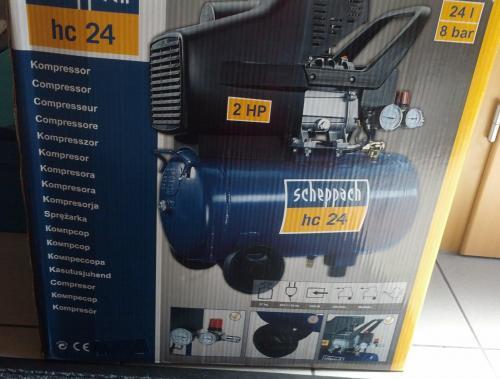 [Lokal?] Kompressor Scheppach HC24 statt HC24o für 49,99 bei OBI Korbach