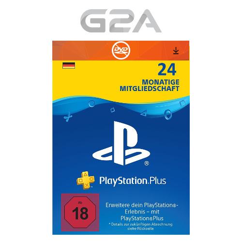 [eBay] 24 Monate Playstation Plus [DE]