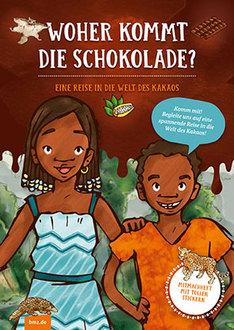 Bundesregierung: interaktives Stickerbuch über Schokolade (für Kinder)