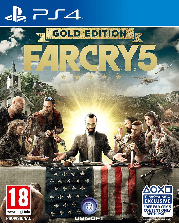 [PS4] Far Cry 5 Gold Edition (inkl. Far Cry 3)