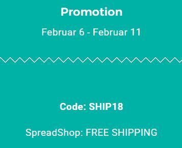 Nur vom 06.02. - 11.02. kostenfreie Lieferung bei Shirt-Happen
