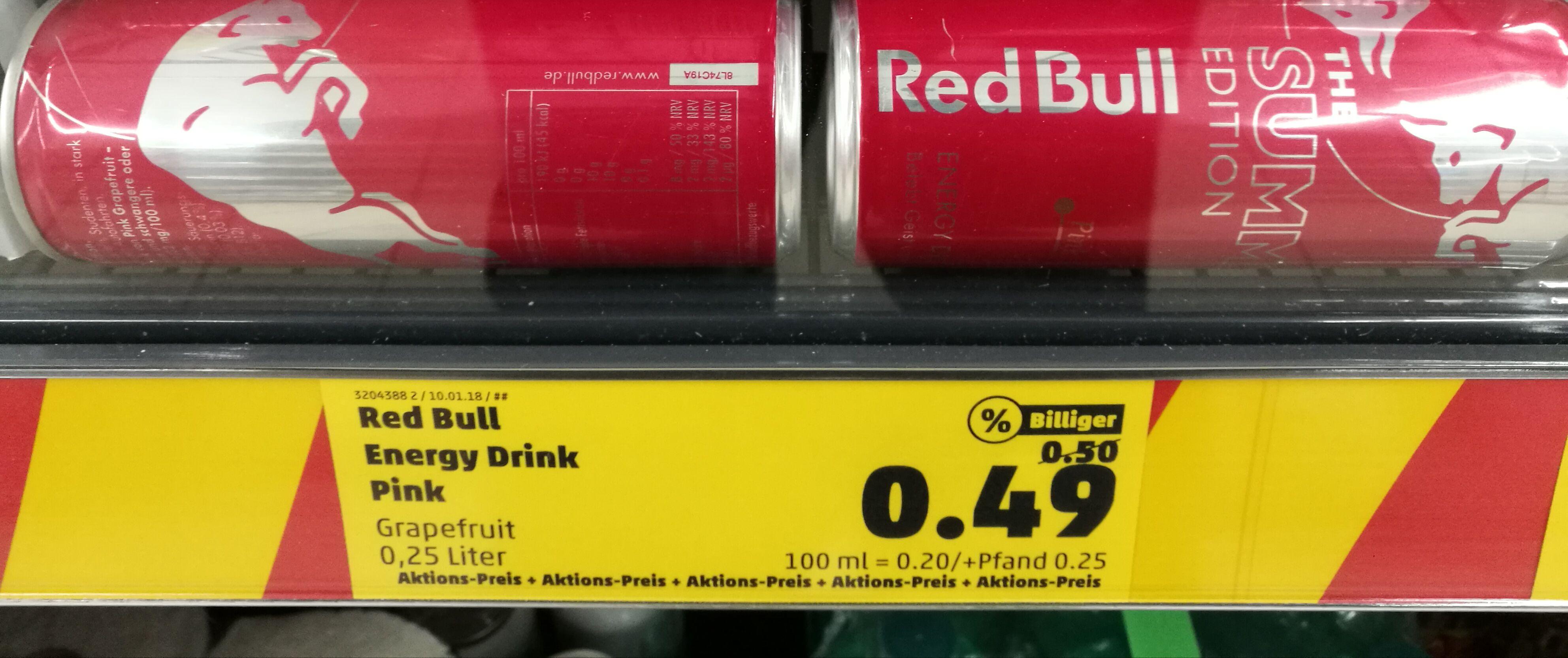 [Lokal Penny Homburg (Saar)] Red Bull Summer Edition