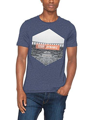 [AMAZON Plusprodukt] JACK & JONES Herren T-Shirt Jcogregor Tee Ss Crew Neck Größe L für 4,35 €