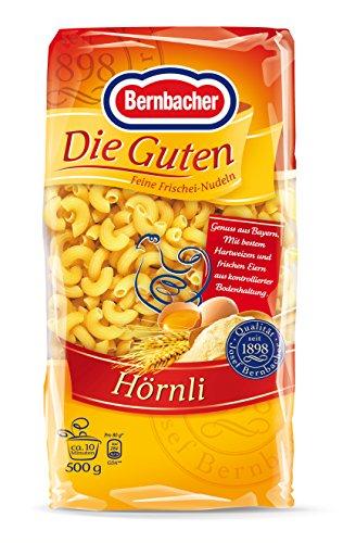 [AMAZON Plusprodukt] 2,5 kg Bernbacher Die Guten - Hörnli, 5er Pack (5 x 500 g)