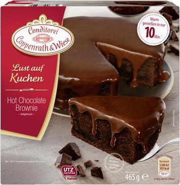 ab heute: [Aldi Nord+Süd] Hot Chocolate-Brownie
