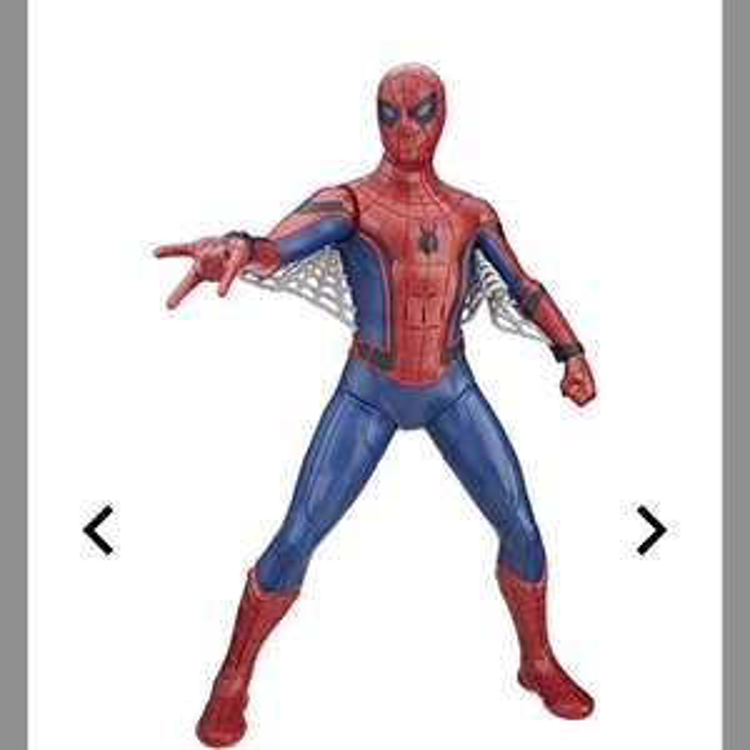 "Marvel Super Heroes Actionfigur ""Spider-Man Home Coming - Super Tech Spider-Man"", Sprachfunktion Galeria Kaufhof"