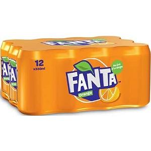 [Grenzgänger FR] 24 33cl-Dosen Fanta Orange für 6,30 € bei E. Leclerc - 0,26 € pro Dose
