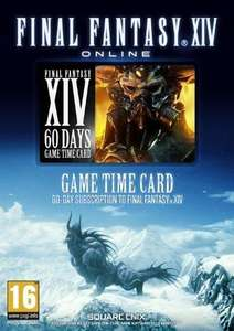 Final Fantasy XIV: A Realm Reborn 60 Tage Game Time Card PC