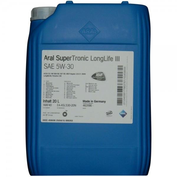20l Aral SuperTronic LongLife III 5W-30 5W30