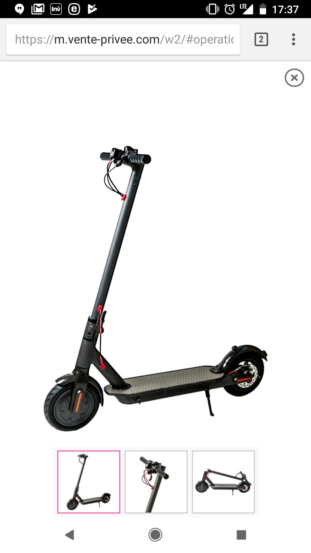 Urbanglide E-Roller Urbanride 80XL/ Xiaomi M365