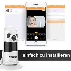 FREDI 1080P Wlan IP IP Baby Überwachungskamera bei amazon.fr im Flash-Sale