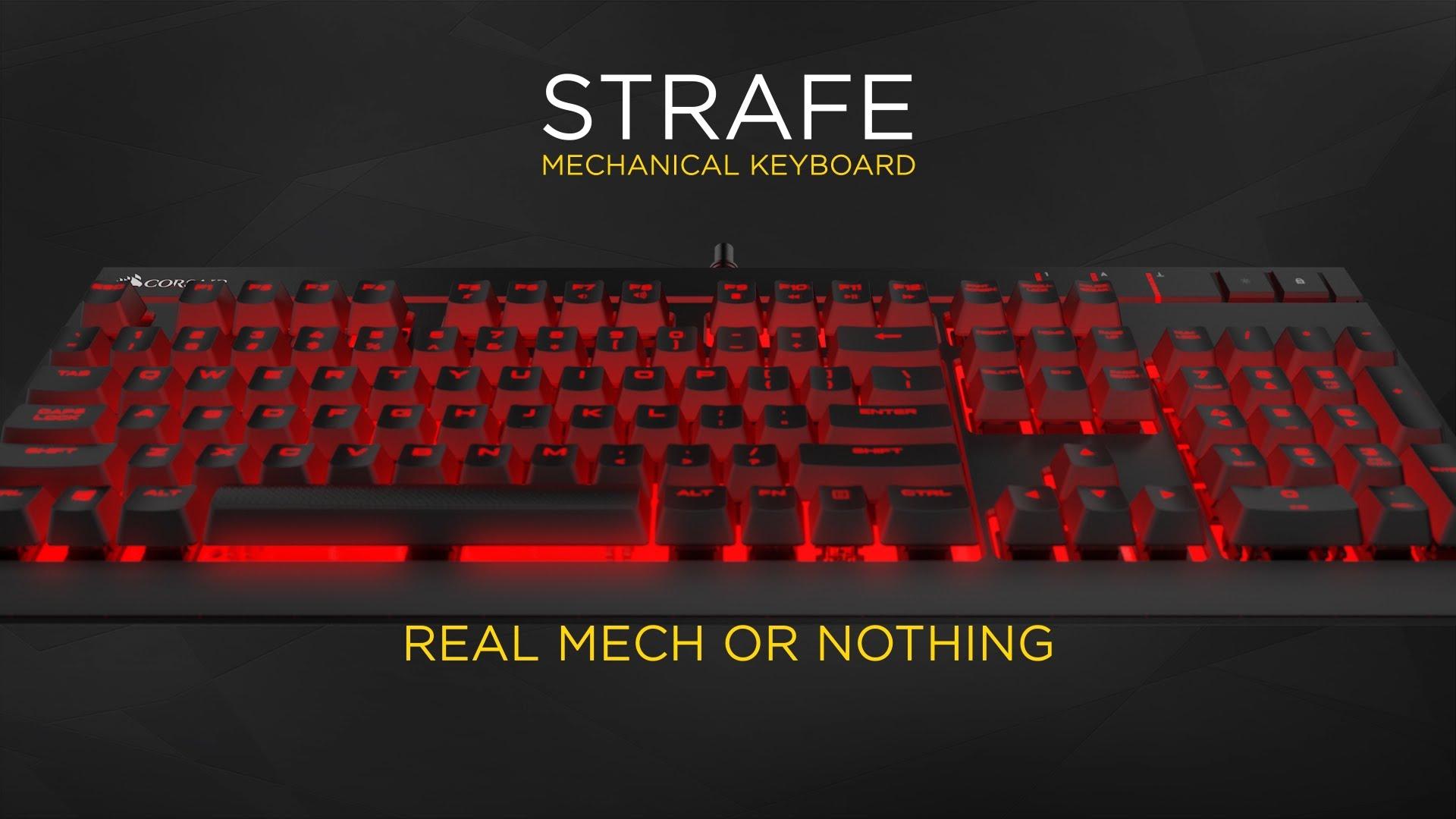 Corsair Gaming STRAFE Cherry MX Red