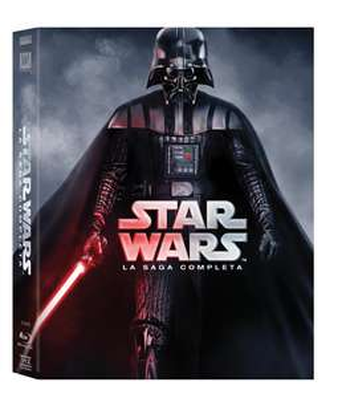 2 x Star Wars Saga Blu Ray  + Game of Thrones Staffel 1-6 Blu Ray (Original Ton)