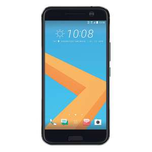 HTC 10 Smartphone (13,2 cm (5,2 Zoll) Super LCD 5 Display, 1440 x 2560 Pixel, 12 Ultrapixel, 32 GB, Android 7.0 -> 8.0) carbon grau oder gold [NBB]