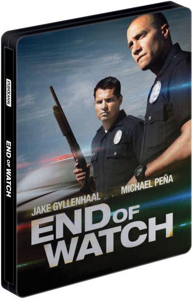 Zavvi: End of Watch - Steelbook Edition (Blu-ray & DVD)