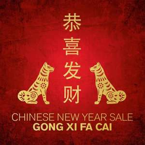 (Lokal Designer Outlet Wolfsburg) CHINESE NEW YEAR SALE